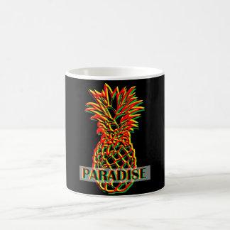 Caneca De Café Paraíso do abacaxi