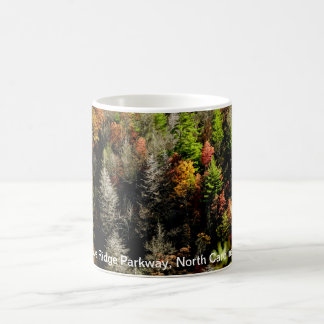 Caneca De Café Parkway azul de Ridge, North Carolina