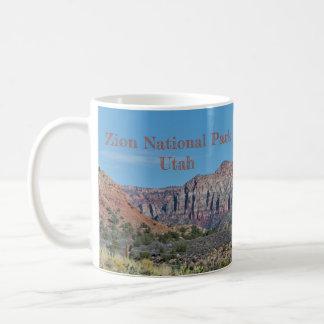 Caneca De Café Parque nacional de Zion da montanha