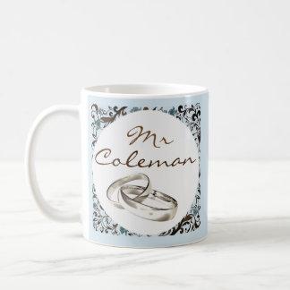 Caneca De Café Parte de um Sr. & de uma Sra. de harmonização