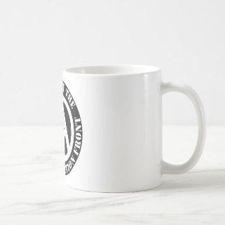 Caneca De Café Parte dianteira de libertação animal do apoio do