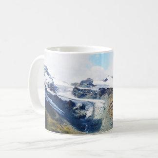 Caneca De Café Partes superiores da montanha nos cumes
