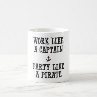 Caneca De Café Partido do pirata