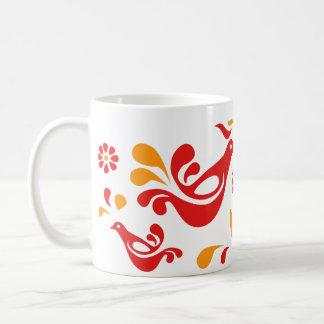 Caneca De Café Pássaro amigável