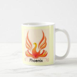 Caneca De Café Pássaro de Phoenix