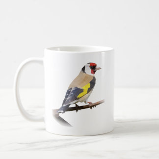 Caneca De Café Pássaro do Goldfinch