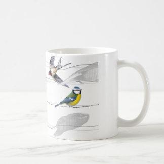 Caneca De Café pássaros