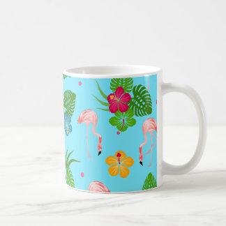 Caneca De Café Pássaros do flamingo