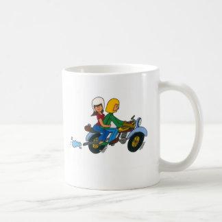 Caneca De Café Passeio da motocicleta