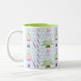 Caneca de café Pastel do chá da série do