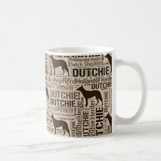 Caneca De Café Pastor holandês - pastor de Hollandse - Dutchie