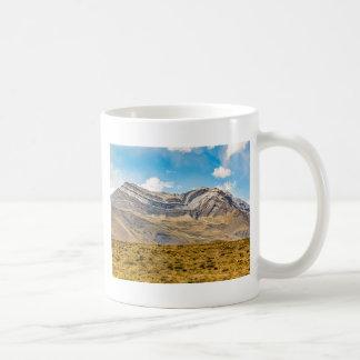 Caneca De Café Patagonia nevado Argentina das montanhas de Andes