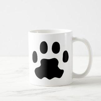 Caneca De Café patas do animal de estimação