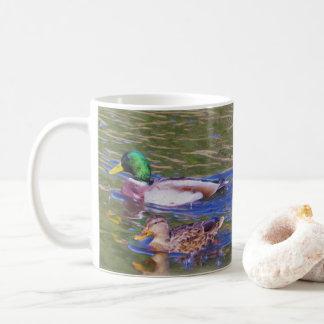 Caneca De Café Patos do pato selvagem