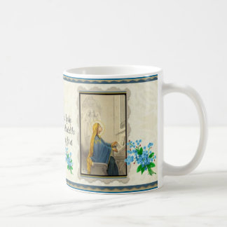 Caneca De Café Patroness de St Cecilia dos músicos
