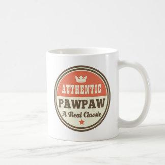Caneca De Café Pawpaw autêntico um clássico real