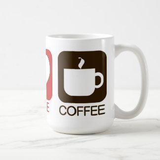 CANECA DE CAFÉ PAZ, AMOR, CAFÉ
