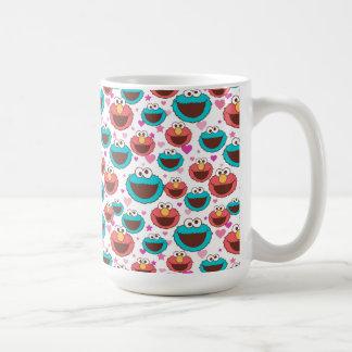 Caneca De Café Paz de Elmo & de monstro | do biscoito & teste