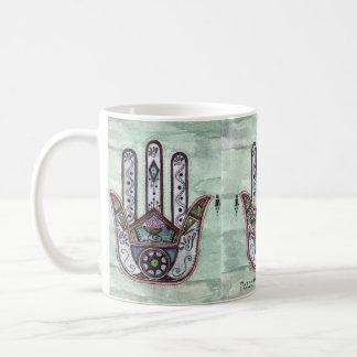 Caneca De Café Paz dentro de nossas mãos