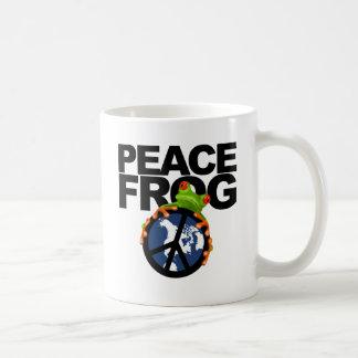 Caneca De Café Paz, Frog-2