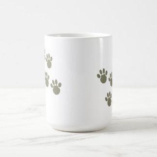 Caneca De Café pegada do animal de estimação