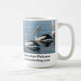 Caneca De Café Pelicanos australianos