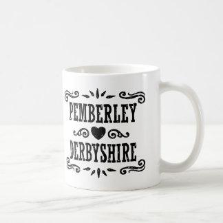 Caneca De Café Pemberley Derbyshire