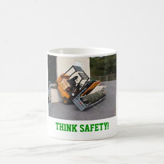 Caneca De Café Pense a segurança!