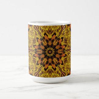 Caneca De Café Peônia amarela