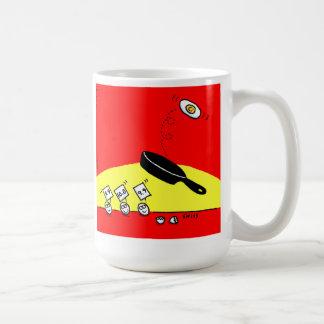 Caneca De Café Pequeno almoço engraçado dos sacudir traseiros da