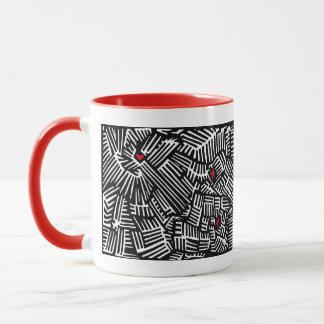 Caneca de café perdida do amor