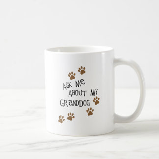 Caneca De Café Pergunte-me sobre meu Granddog