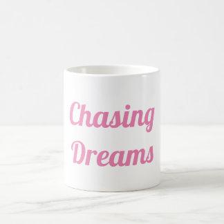 Caneca De Café Perseguindo sonhos