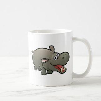 Caneca De Café Personagem de desenho animado dos animais do
