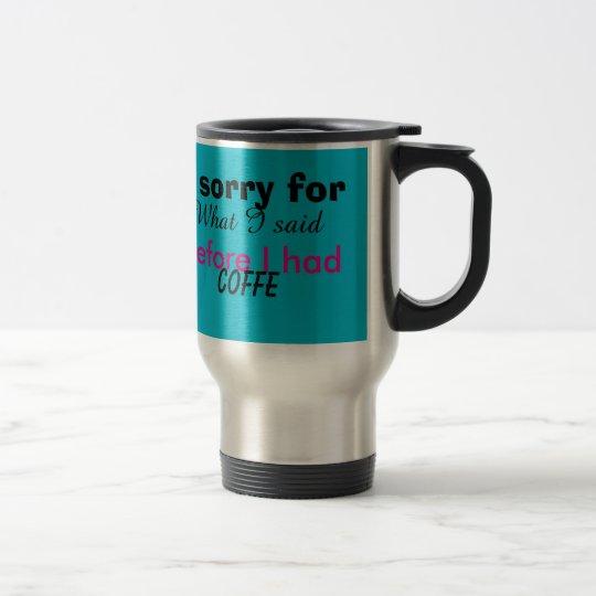Caneca de café personalizada!!