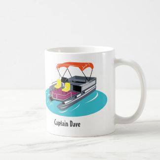 Caneca de café personalizada barco do pontão