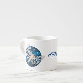 Caneca de café personalizada com traças da noite