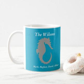 Caneca de café personalizada design do cavalo