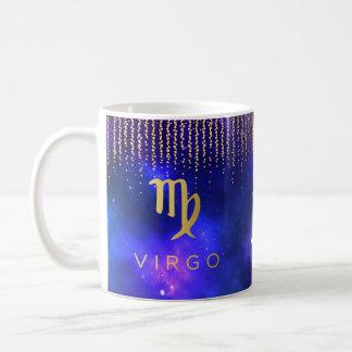 Caneca de café personalizada Virgo