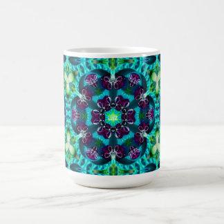 Caneca De Café ~ personalizado de Liz do teste padrão ~ Glittery