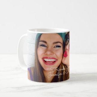 Caneca De Café Personalize com seus foto & nomes