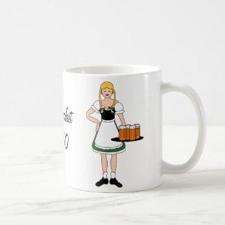 Caneca De Café Personalize-me -- Meninas de Oktoberfest
