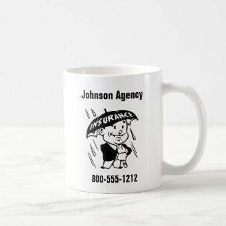 Caneca De Café Personalize o lado do agente de seguros ou da