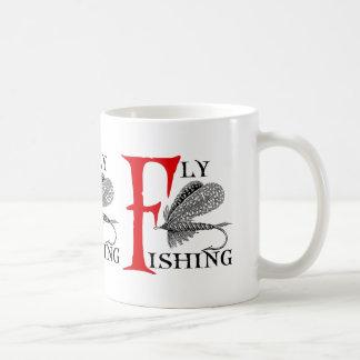 Caneca De Café Pesca com mosca com atração da pesca