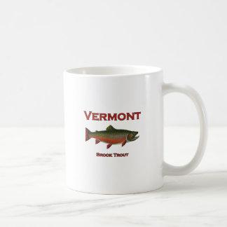 Caneca De Café Pesca de Vermont - truta de ribeiro