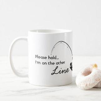 Caneca De Café Pesca do amor - na outra linha