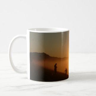 Caneca De Café Pesca do nascer do sol