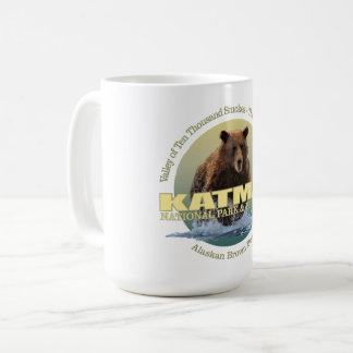 Caneca De Café PESO de Katmai (urso de Brown)