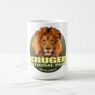 Caneca De Café PESO de Kruger NP (leão)