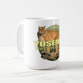 Caneca De Café PESO de Yosmite (leão de montanha)